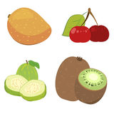 Cute fruit collection08 Royalty Free Stock Photos