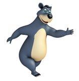 Cute funny Bear cartoon character Royalty Free Stock Images