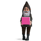 Cute and funny cartoon garden gnome Royalty Free Stock Images