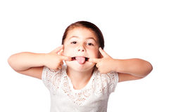 Cute funny face Stock Photo