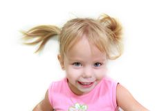 Cute funny girl Stock Images