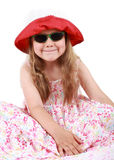 Cute funny little girl Stock Photos