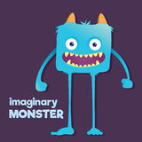 Cute Furry Imaginary Monster Stock Photo
