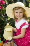 Cute gardener Stock Photography