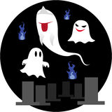 Cute ghost Stock Photos