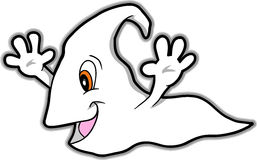 Cute Ghost Vector Illustration Stock Photography