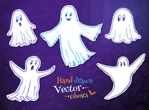 Cute ghosts Royalty Free Stock Images