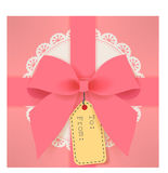 Cute gift box Stock Image