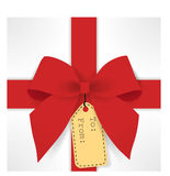 Cute gift box Royalty Free Stock Photo