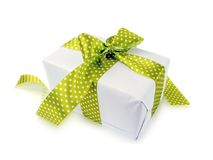 Cute gift isolated Royalty Free Stock Photography