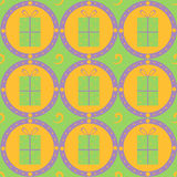 Cute gift pattern Stock Photography