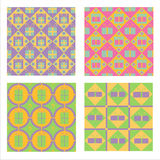 Cute Gift Patterns Stock Photography