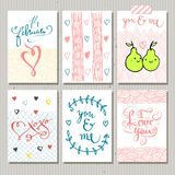 Cute gift tags. Love Royalty Free Stock Photography