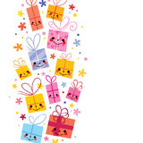 Cute gifts background Stock Photo