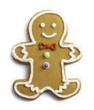 Cute Gingerbread Cookie Royalty Free Stock Image
