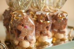 Cute gingerbread cookies Stock Image