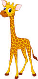 Cute giraffe cartoon Royalty Free Stock Photo