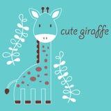 Cute giraffe Stock Image