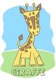 Cute Giraffe. Vector illustration of an Giraffe Stock Photos