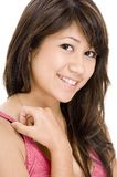 Cute Girl 10. A close-up portrait of a pretty young woman Stock Images
