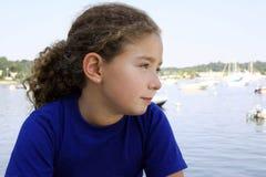 Cute girl. Outdoors Stock Photos