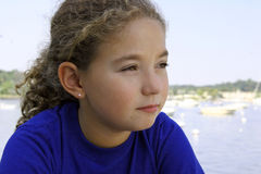 Cute girl. Outdoors Stock Photography