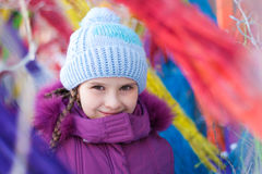 Cute girl Royalty Free Stock Photography