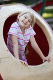 Cute girl having fun. Royalty Free Stock Photos