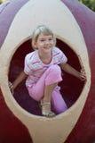 Cute girl having fun. Royalty Free Stock Photo