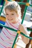 Cute girl having fun. Stock Images