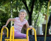 Cute girl having fun. Stock Photo