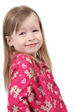 Cute girl in pajamas Royalty Free Stock Photo