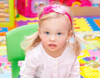 Cute girl portrait Royalty Free Stock Images