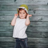 Cute girl posing for the camera. Ukraine. Europe Stock Images