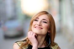 Cute girl posing Stock Photography
