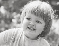 Cute girl's portrait. Royalty Free Stock Photos