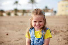 Cute girl smiling Stock Photography