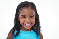 Cute girl smiling at the camera Royalty Free Stock Photo