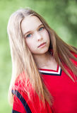 Cute girl in summer day Royalty Free Stock Images