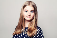 Cute Girl Teenager. 15 years Royalty Free Stock Image
