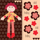 Cute girl vector Royalty Free Stock Images