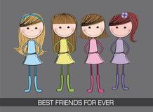 Cute girls Stock Image
