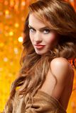Cute Glamour Girl Royalty Free Stock Photos