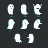 Cute glowing ghost Royalty Free Stock Photo