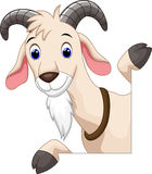 Cute goat cartoon. Illustration of Cute goat cartoon Royalty Free Stock Photography