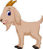 Cute goat cartoon Stock Photo