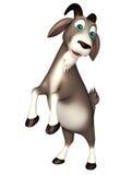 Cute Goat funny cartoon character Royalty Free Stock Image