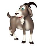 Cute Goat funny cartoon character Royalty Free Stock Photos