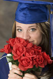 Cute Graduate Girl Royalty Free Stock Images