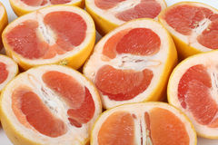 Cute grapefruit Royalty Free Stock Images